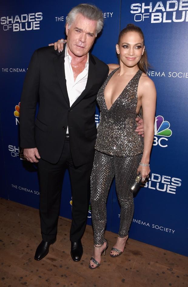 Ray Liotta e Jennifer Lopez (Foto: Dimitrios Kambouris/Getty Images)