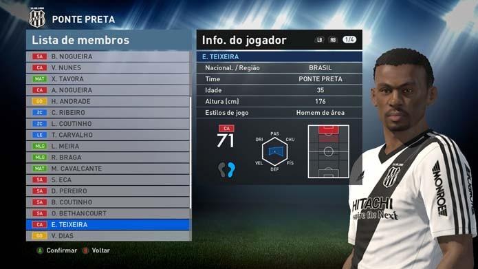 Matador Borges tem barbicha esquisita no game (Foto: Reprodução/Murilo Molina)