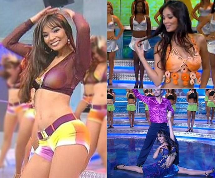 Carol Nakamura é ex-bailarina e chegou a participar do 'Dança dos Famosos' (Foto: TV Globo)