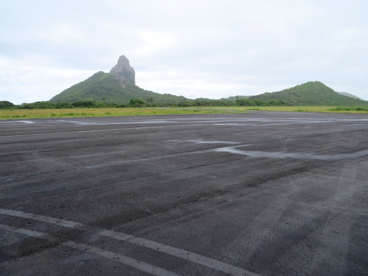 Pista do Aeroporto de Fernando de Noronha