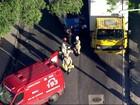 Homem morre atropelado em Rocha Miranda, Zona Norte do Rio