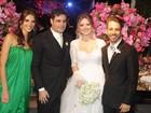 Junior Lima é padrinho do casamento de Rodrigo Scarpa, o Repórter Vesgo