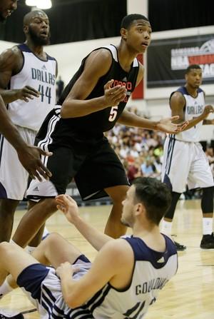 Bruno Caboclo basquete Toronto Raptors (Foto: AP)