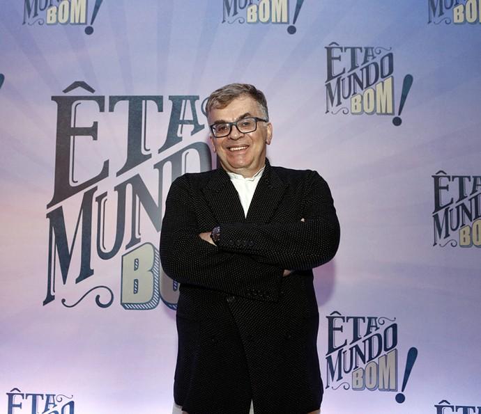 Walcyr Carrasco revela que também se emociona ao escrever as cenas da novela (Foto: Inácio Moraes/Gshow)