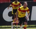 """Willian Farias trata conquista de títulos com cautela: """"Muito esperançoso"""""""