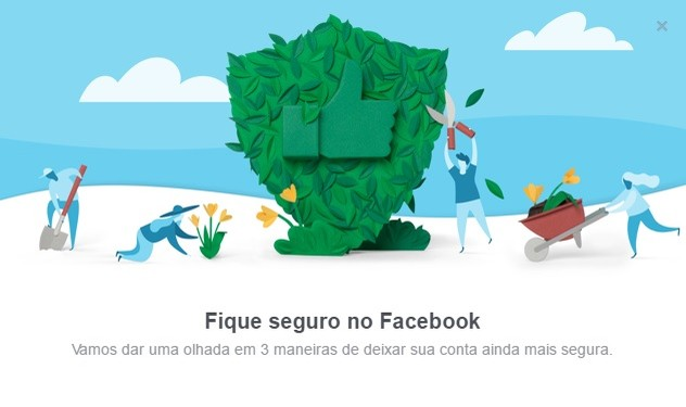 Ative a verificação de segurança e mantenha a sua conta do Facebook segura (Foto: Reprodução/Camila Peres) (Foto: Ative a verificação de segurança e mantenha a sua conta do Facebook segura (Foto: Reprodução/Camila Peres))