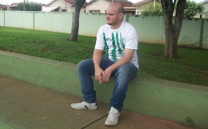 Junior Rodrigo de Abreu, presidente da Francana (Foto: Divulgação / AA Francana)