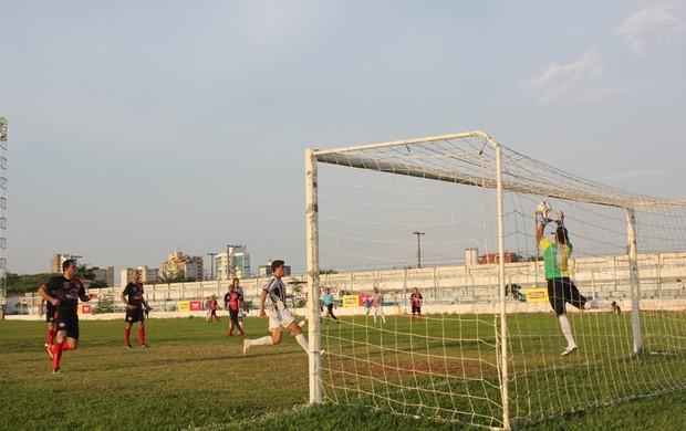 Santos Porto Velho e Atlético Pimentense empatam em 2 a 2 no primeiro confronto da Segunda Divisão do Rondoniense (Foto: Shara Alencar/GLOBOESPORTE.COM)