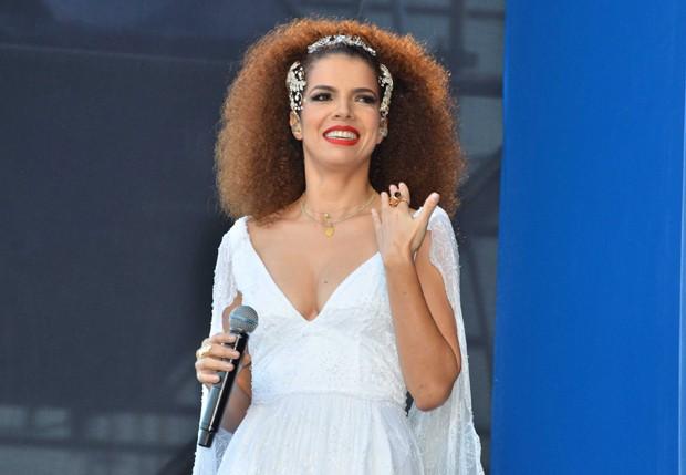 Vanessa da Mata se apresenta em São Paulo (Foto: Caio Duran/AgNews)