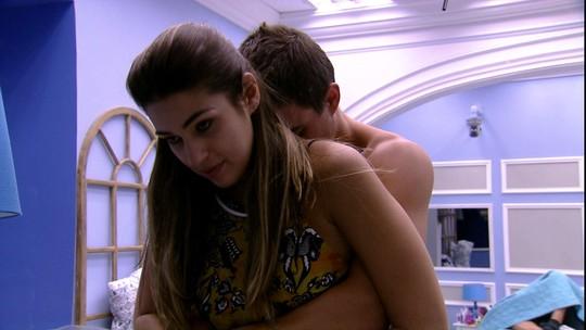 Manoel comenta com Vivian: 'O dia foi maravilhoso'