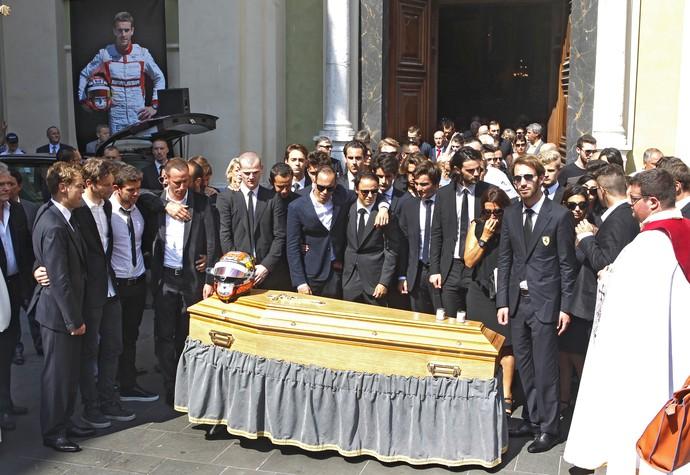 Funeral de Jules Bianchi (Foto: AP)