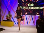 Anitta troca palco por passarela e desfila em São Paulo