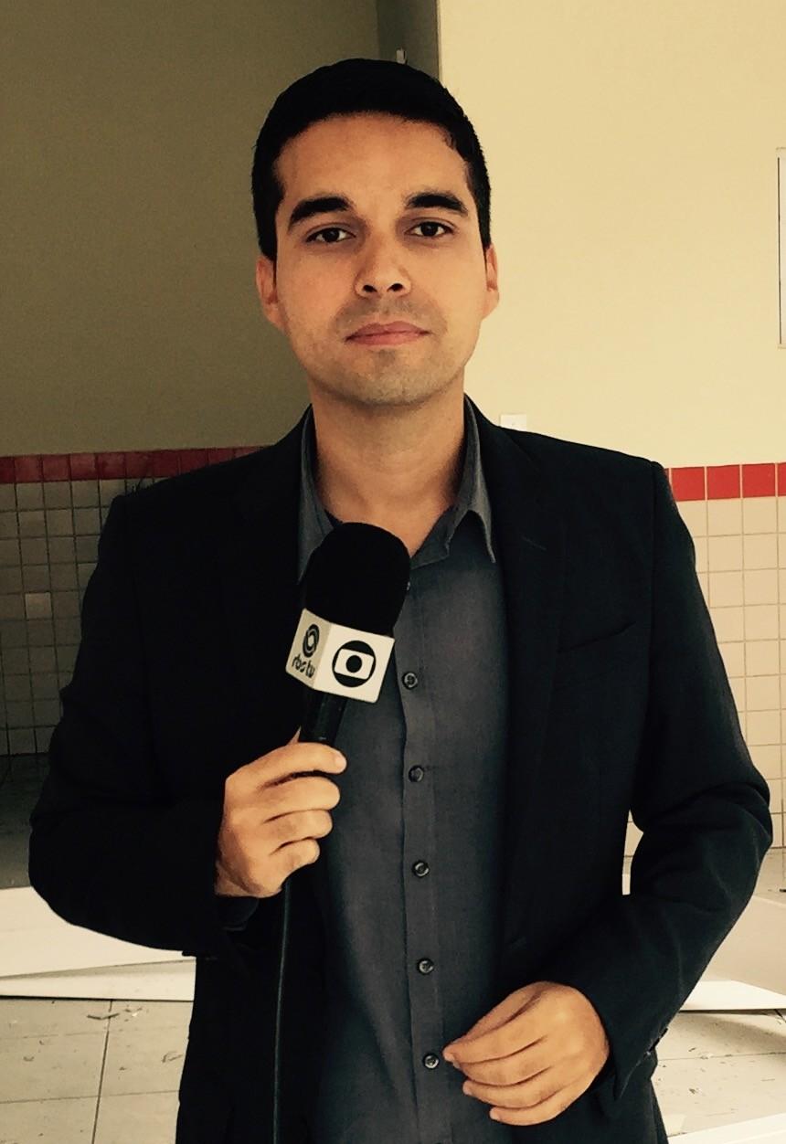 Luiz Gustavo é o novo repórter de Criciúma  (Foto: RBS TV/Divulgação)