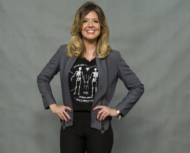 Mariana Santos revela como mantém a boa forma (Foto: Estevam Avellar / TV Globo)