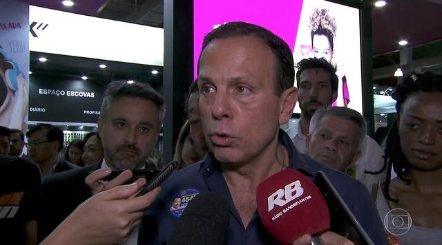 João Doria faz campanha na capital neste sábado (08)