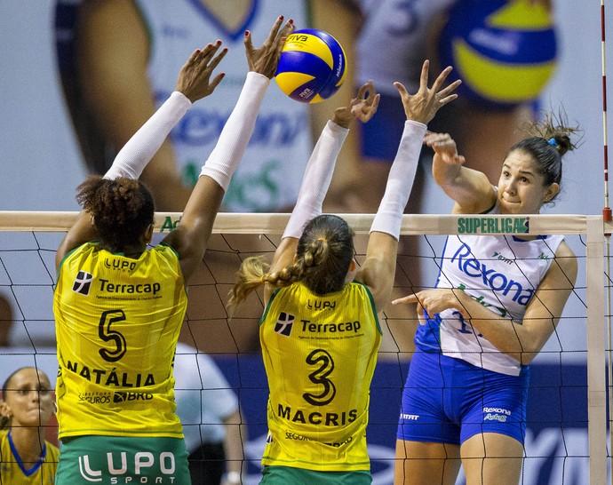 Rio de Janeiro Brasilia Superliga Feminina Vôlei (Foto: Marcio Rodrigues/Mpix)