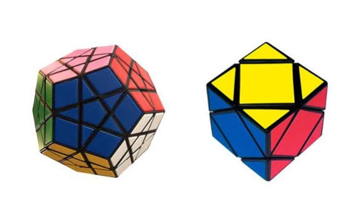 Cubo de Rubik também possui versões Poliedros Mágicos, com figuras geométricas diferentes (Foto: Arte/TechTudo) (Foto: Cubo de Rubik também possui versões Poliedros Mágicos, com figuras geométricas diferentes (Foto: Arte/TechTudo))