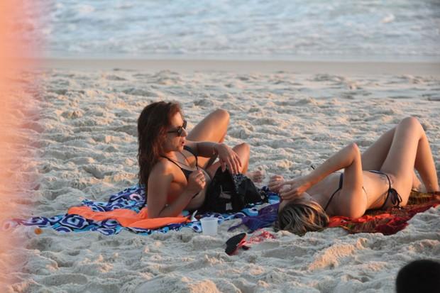Fernanda Gentil e a namorada, a jornalista Priscila Montandon (Foto: AgNews / AgNews)