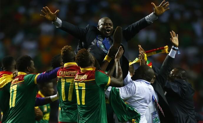 Camarões Egito Copa Africana (Foto: Amr Abdallah Dalsh/Reuters)