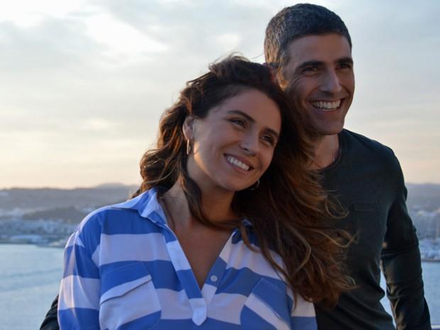 Giovanna Antonelli e Reynaldo Gianecchini em 'S.O.S - Mulheres ao mar' (Foto: Divulgação)
