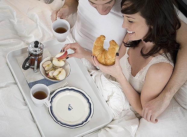 ebde0da851 10 ideias para um café da manhã romântico (Foto  ThinkStockPhotos)