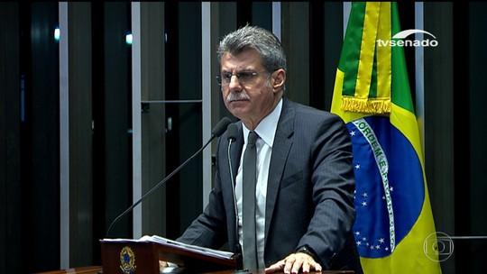 Jucá defende proposta que blindaria presidentes da Câmara e Senado