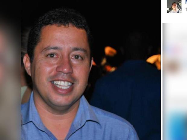 Reinaldo Coelho Cardoso foi prefeito de Santo Antônio do Leste (Foto: Reprodução/ Facebook)