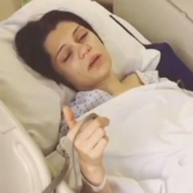 Jessie J após operação (Foto: Instagram/ Reprodução)