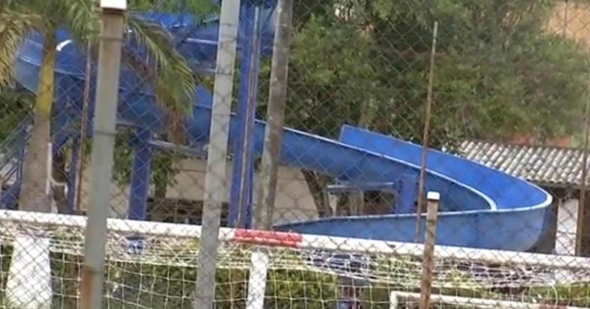 Menino se machuca em piscina de clube em Campo Limpo Paulista - Globo.com