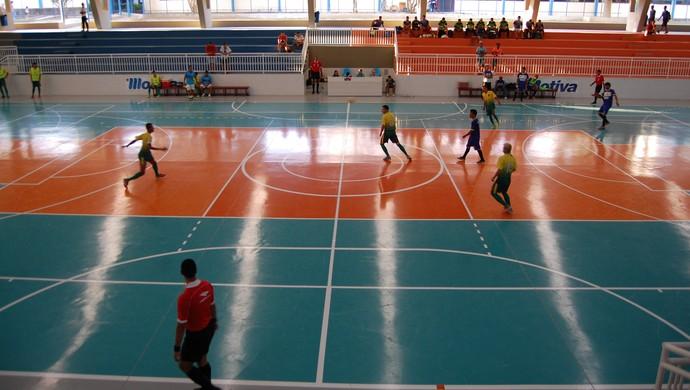 Taça Brasil de Futsal Sub-20, Campina Grande (Foto: Silas Batista / GloboEsporte.com)