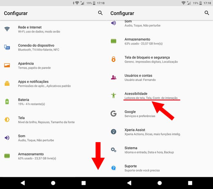 02b4da1de2a Como alterar o tamanho da fonte e da exibição no Android