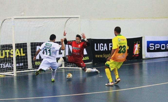 Brasília Futsal x Marechal Rondon Liga Futsal (Foto: Divulgação)