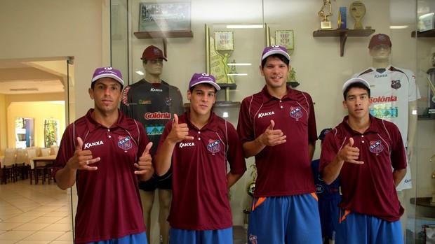 Toledo anuncia a contratação de quatro atletas uruguaios (Foto: Divulgação / Site oficial do Toledo)