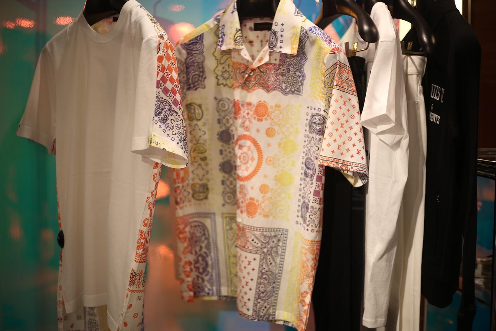 Loja pop-up fragment design e Louis Vuitton em Londres (Foto: Divulgação)