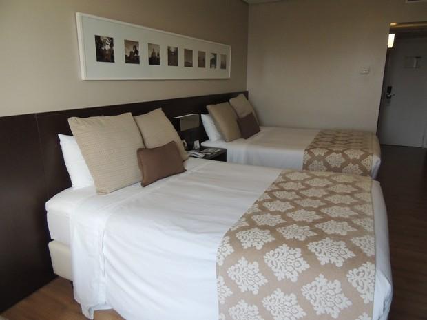 Hotel Deville quartos Porto Alegre copa do mundo seleções (Foto: Paula Menezes/G1)