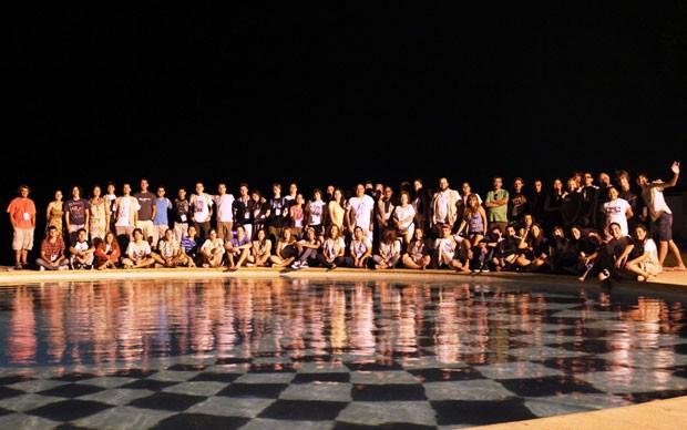 Delegações de 20 países participaram da competição estudantil em Portugal (Foto: Divulgação)