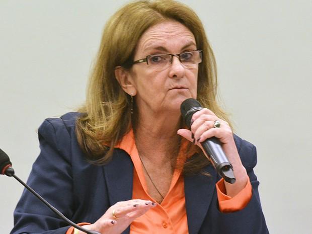 Graça Foster fala na CPI da Petrobras (Foto: Renato Costa/Frame/Estadão Conteúdo)