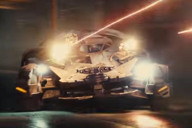 Batmóvel Liga da Justiça (Foto: Divulgação)