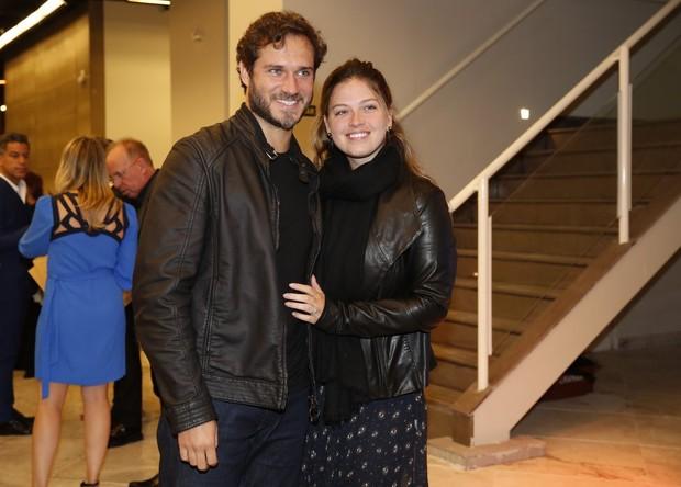Paulo Rocha e mulher (Foto: Marcos Serra Lima / Ego)