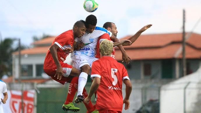 CRB x Crac, em Coruripe (Foto: Ailton Cruz/ Gazeta de Alagoas)