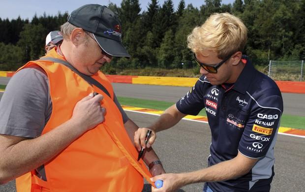 vettel loiro Bélgica formula 1 (Foto: Reuters)
