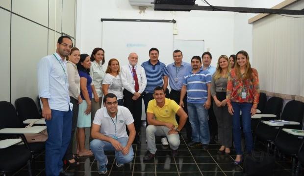 """Reunião de lançamento do """"Acre TV em Forma"""" (Foto: Reprodução TV Acre)"""