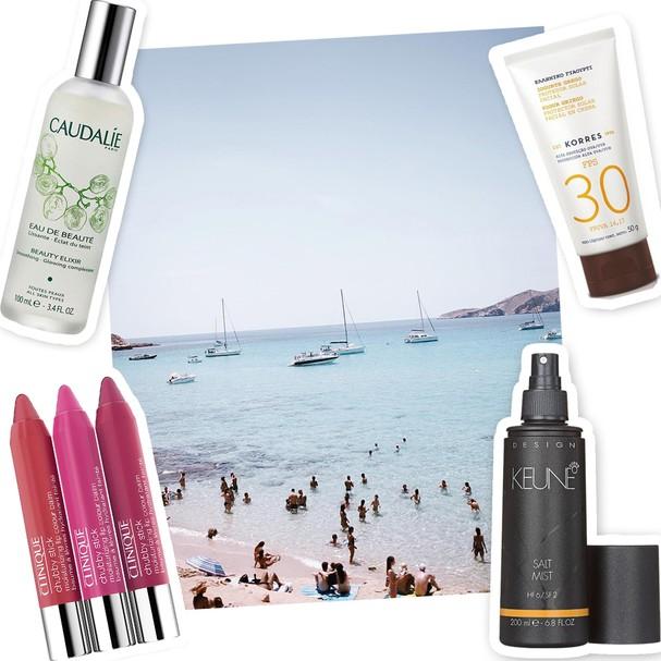Os essenciais de beauté de Camila Coelho (Foto: Divulgação)