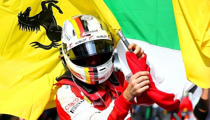 Sebastian Vettel Ferrari GP da Malásia