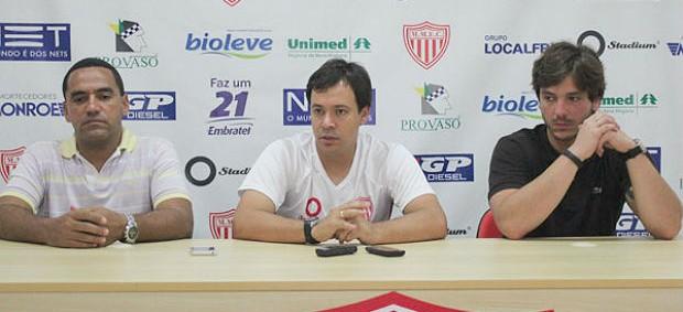 Dado Cavalcanti, técnico do Mogi Mirim (Foto: Geraldo Bertanha/Divulgação/MMEC)