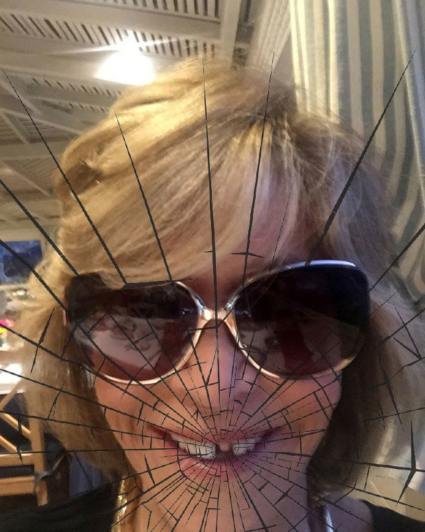 Jane Fonda perdeu um dente durante almoço vip em Portugal  (Foto: Reprodução)