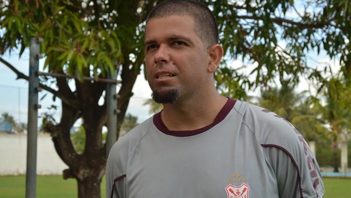 Pablo diz que faltou sorte ao Sergipe (Foto: Felipe Martins)
