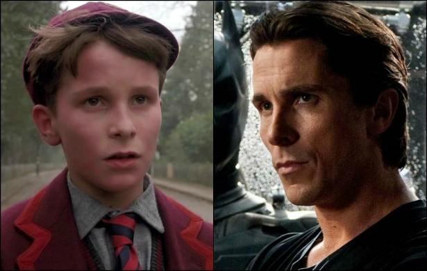 Outro Batman, Christian Bale, tinha só 13 anos quando estrelou 'Império do Sol' (1987). Hoje tem 40. (Foto: Reprodução)