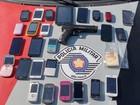 Polícia flagra adolescentes e homem  com celulares roubados em Tatuí