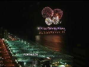 Réveillon Fortaleza (Foto: Rede Globo/Reprodução)